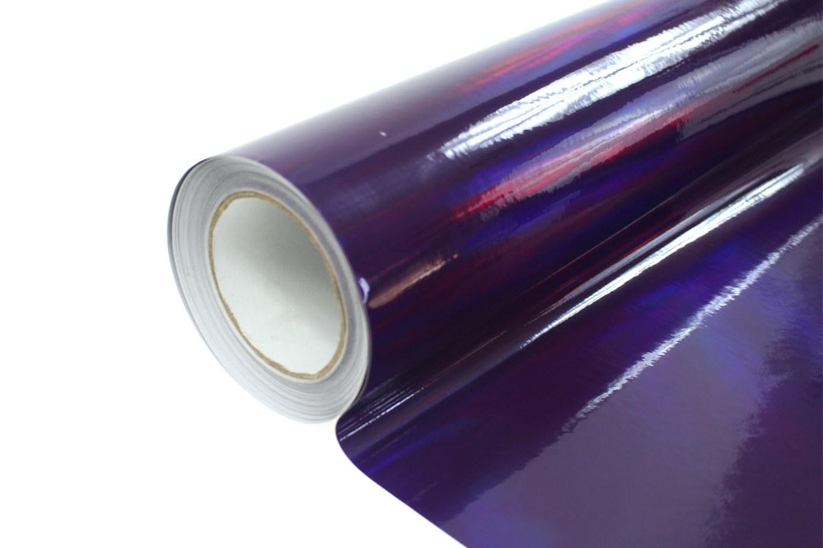 Folia Wrap Purple Holo 1,52X30m - GRUBYGARAGE - Sklep Tuningowy